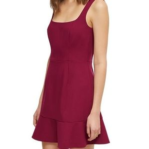 French Connection Hollyhock Dorotea Flare Dress